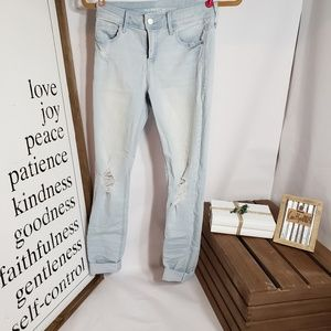 Old Navy Jeans - Old Navy Distressed Rockstar Mid-Rise Jeans